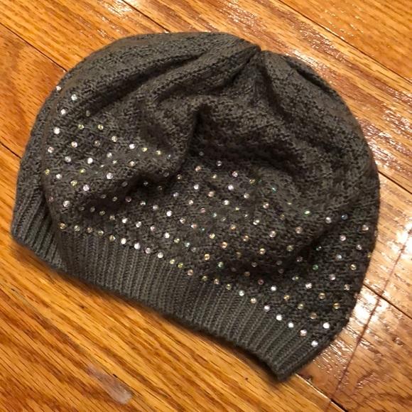 846b5bea224 Girls bling beanie hat. M 5b8f37bfe9ec89bbea7551c5